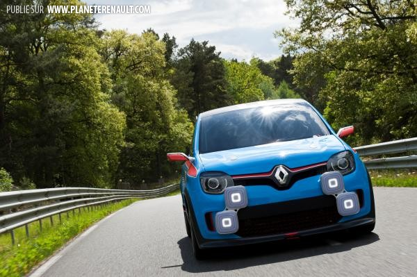 Twin'Run, future Twingo R.S
