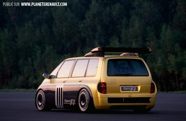 Renault Espace F1, le plus rapide des monospaces Cox19949120119h