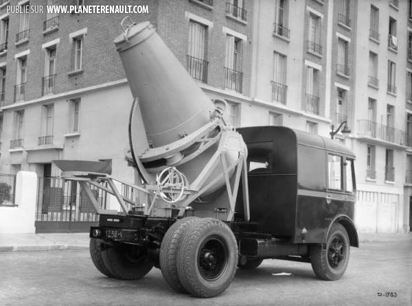 Camion betonniere ABF 1937