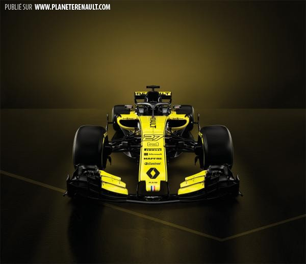 F1 Renault 2018 RS18
