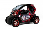 Twizy by Cathy & David Guetta:En direct du Mondial