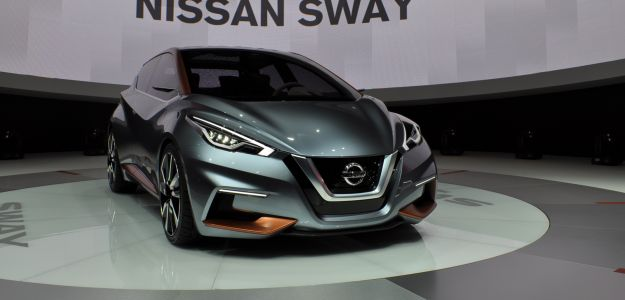 Concurrence Genève 2015: Nissan Sway-Concept