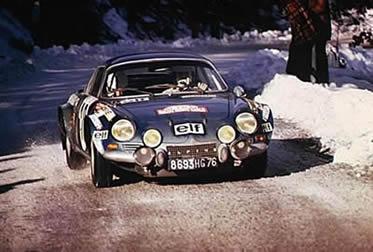 Alpine A110 au Monte-Carlo