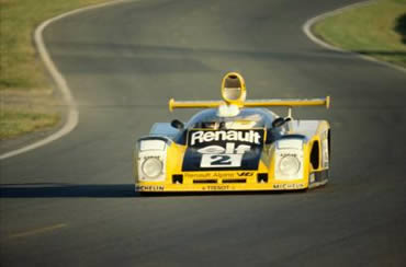 Alpine A442 au Mans